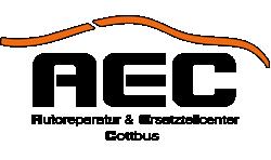 AEC Cottbus - Ihr freie KFZ Werkstatt im Norden von Cottbus - direkt vor dem Ärztehaus am TKC Einkaufscenter Logo