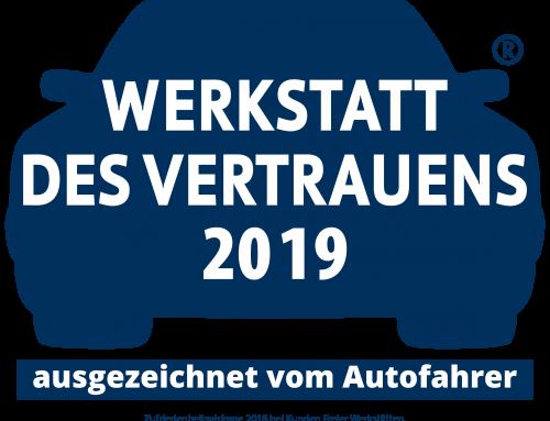 Werkstatt des Vertrauens 2019